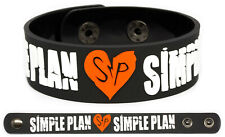 Simple Plan wristband rubber bracelet