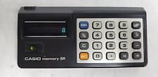 Vintage Casio Memory-8R Calculator with Soft Case
