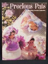 Vintage 1982 Precious Pals Charming Crochet Pattern Instructions MM701