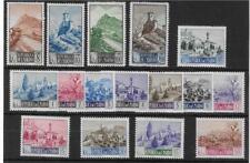 (V) San Marino 1949 Pictorial set MH cat £500 SG374-87
