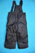 Hello Kitty Black Waterproof SKI OVERALLS Child's Size 6 NEW. Adj.Elastic Straps