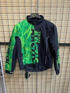 Arctic Cat Men's Team Pro Insulated Snowmobile Jacket -Green
