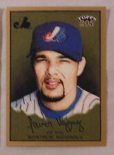 2003 Topps 205 Javier Vazquez Expos #113 Baseball Card