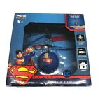 World Tech Toys RC Helicopter Superman DC Flying UFO Ball Toy with USB Charger