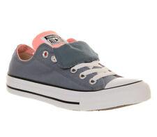 Converse Allstar Low Double Tongue Blue Pink UK 2 EU 34 CH11 14