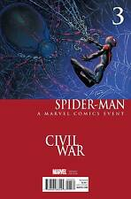 Spider-Man #3 Civil War Variant (2016 Marvel Comics) NM 9.4 Bendis Pichelli Chin