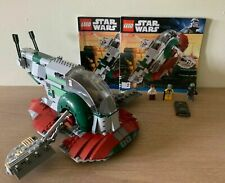 LEGO 8097 Star Wars Slave I Slave 1 No Box 100% Complete