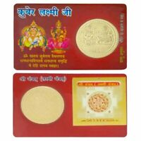 SRI SHRI SHREE YANTRA LAXMI YANTRA KUBER LAXMI POCKET YANTRA ENERGIZED CARD