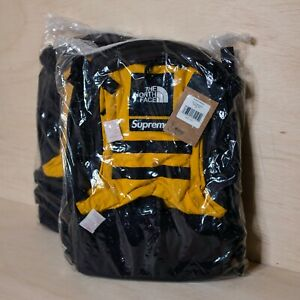 Supreme The North Face RTG Backpack Gold, DS BRAND NEW
