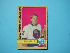 1972/73 O-PEE-CHEE NHL HOCKEY CARD #232 JIM MAIR ROOKIE EX+ EXNM SHARP 72/73 OPC