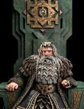 The Hobbit Unexpected Journey King Thror on Throne WETA Collectibles