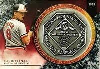 2017 Topps Update MVP Award Commemorative Medallions Pick From List