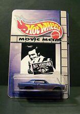 """Custom HotWheels MONTE CARLO and package of  """"Movie Metal""""   ACE VENTURA"""