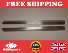 Stainless steel FRONT door carpet retainer trims Fit Land Rover Defender 90/110