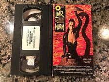 The LAIR OF THE WHITE WORM VHS! 1988 Horror! Also See The Tomb & Gothic