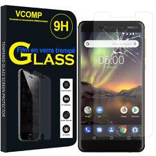 """1 Film Verre Trempe Protecteur Protection pour Nokia 6 (2018)/ Nokia 6.1 5.5"""""""