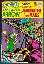 BRAVE+BOLD #50 SOLID FN GLOSSY 1963 GREEN ARROW/MARTIAN MANHUNTER+SPEEDY!