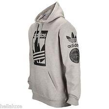 nwt~Adidas STREET GRAPHIC HOODY Sweat Shirt superstar Hooded FLEECE Top~Men sz S