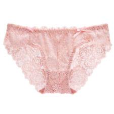 Women's Underwear Low-waist Sexy Lace Hollow Bowknot Triangle Panties Lingerie