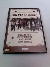 "DVD ""LOS VENGADORES"" DANIEL MANN WILLIAM HOLDEN ERNEST BORGNINE WOODY STRODE"