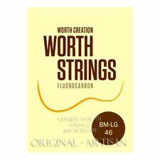 More details for worth brown ukulele strings - soprano & concert low g - double length pack bm-lg