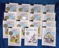 Ginger Pinky Pye Rufus by Eleanor Estes Teacher/Class Mixed LOT of 15 Copies