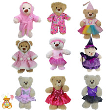 8-10 inch/25cm TEDDY CLOTHES - PINK DRESS, PRINCESS,WITCH,TUTU,BIRTHDAY,WINTER