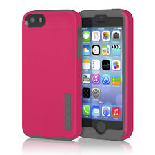 iPhone SE/5S/5 Incipio DualPro Hard Shell Case Dual Layer Pink/Gray Cover