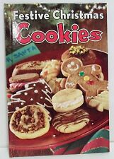 Festive Christmas Cookies (2005 Hardcover) 14 Great Traditional Recipes 31 Pages