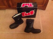 Tuf Thinsulate Coldstore Steel Toe Capped Rigger Boot - Black - Size 7