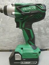 Hitachi Hikoki Cordless 18v Impact Driver WH18DGL & 3Ah Battery