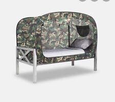 Privacy Pop- The Bed Tent -Camouflage Twin Size Dorm Private Oasis Canopy