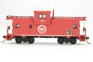 HO Athearn Custom Detailed Missouri Pacific Wide Vision Caboose, KD couplers