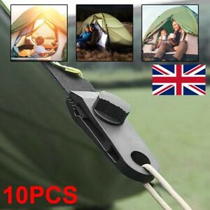 10PCS Tarp Clips Lock Grip Awning Clamp Set Instant Clip for Camping Canopies UK