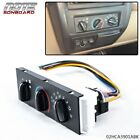 HVAC A/C HEATER CONTROL WITH BLOWER MOTOR SWITCH FIT FOR 1999-2004 JEEP WRANGLER