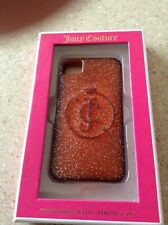 JUICY COUTURE Cell Phone case for IPHONE 4/4S, Pink Glitter, NEW