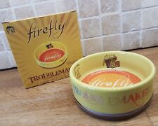 Firefly Serenity pet bowl loot Dog Cat Tam New