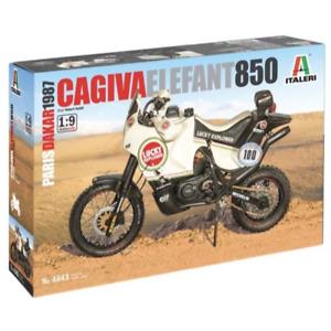 Italeri 4643 1/9 Cagiva Elephant 850 Paris-Dakar 1987 with Super Decal Sheet Pla