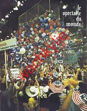 Le spectacle du monde 127 10/1972 Nixon Porto Rico Panama Terrorisme Beaumarchai