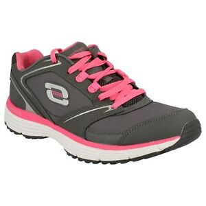 LADIES SKECHERS TRAINERS AGILITY REWIND 11696 LACE UP MEMORY FOAM TRAINERS SHOES