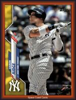 2020 Topps Walgreens Exclusive Yellow Aaron Judge #7