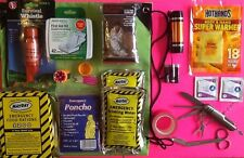 Emergency Disaster Survival Kit Hurricane Earthquake Winter Auto Overnight Car