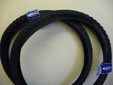 Pair of Schwalbe Land Cruiser MTB Cycle Bike Tyres 26 x 2.00 New Mountian Bike