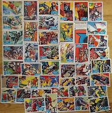 BATMAN Topps 1966 Blue Bat Trading Cards Full Reissue Set