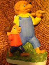 Berenstain Bears Book 1983 Chip off the old Block Figurine Ebeling & Reuss