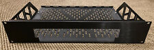Middle Atlantic Black Brushed Anodized Shelf 2 Space - Sony PS3 Slim Faceplate