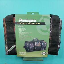 Remington Pack & Bags 3 Pocket Duffel Bag Camo Hunting Print NiB