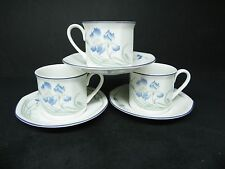 Royal Doulton Minerva Cups and Saucers (Set of 3)  ..