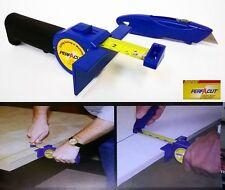 New PERFACUT Combo Steel Utility Knife, Steel Tape Measure Cutting Guide