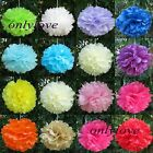 "10pcs Tissue Paper Pom Poms Flower Ball Wedding Party Birthday Decor 6""/8""/10"""